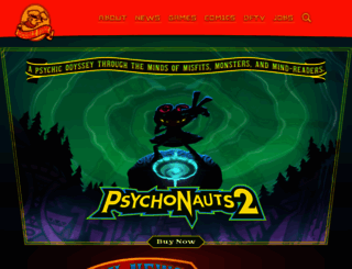 doublefine.com screenshot