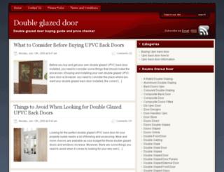 doubleglazeddoor.org.uk screenshot