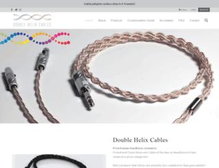 doublehelixcables.com screenshot