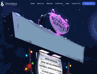 doubleklickdesigns.com screenshot