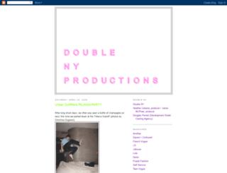 doubleny.blogspot.com screenshot