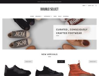 doubleselect.com screenshot