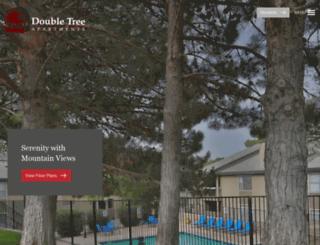 doubletreeapartmentselpaso.securecafe.com screenshot