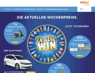 doublewin.coop-pronto.ch screenshot
