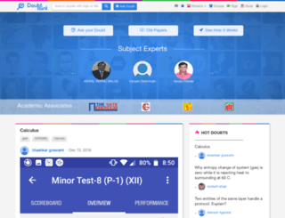 doubtpoint.com screenshot