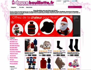 doucebouillotte.fr screenshot