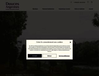 doucesangevines.com screenshot