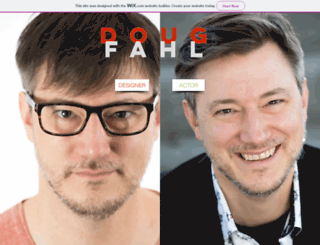 dougfahl.com screenshot
