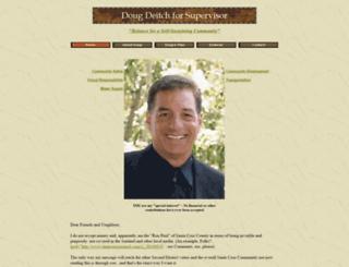 dougforsupervisor.com screenshot