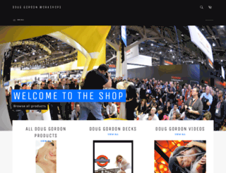 douggordonworkshops.myshopify.com screenshot
