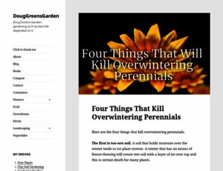 douggreensgarden.com screenshot