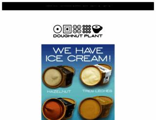 doughnutplant.com screenshot
