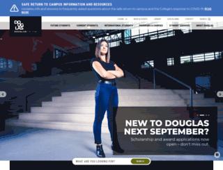 douglas.bc.ca screenshot