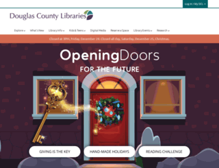 douglascountylibraries.org screenshot
