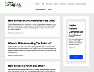 douglasma.org screenshot