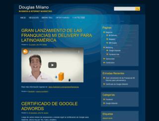 douglasmilano.com screenshot