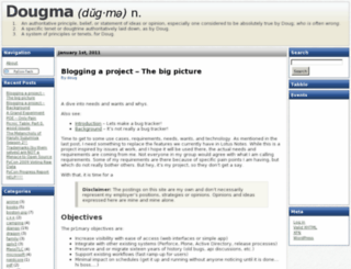 dougma.com screenshot
