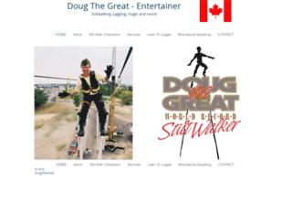 dougthegreat.com screenshot
