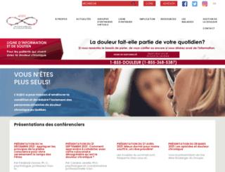 douleurchronique.org screenshot