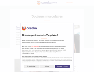 douleurs-musculaires.ooreka.fr screenshot