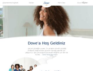 dove.com.tr screenshot