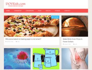 doveish.com screenshot