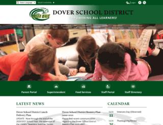 dover.k12.nh.us screenshot