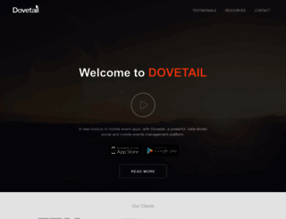 dovetail.events screenshot