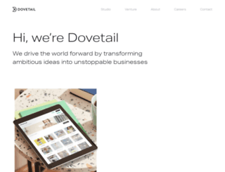dovetaildigital.io screenshot
