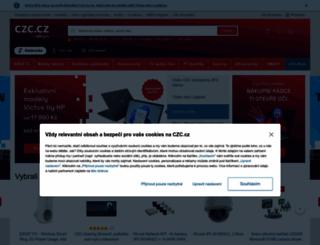 dovolena.czc.cz screenshot