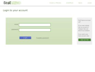 dow.ontestpad.com screenshot