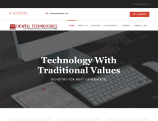 dowelltech.com screenshot