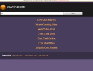 downchat.com screenshot