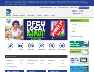 downeyfcu.org screenshot