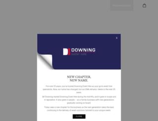 downings.co.za screenshot