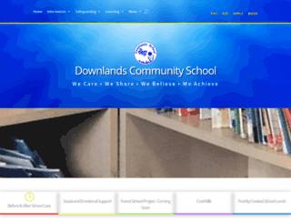 downlandsschool.org screenshot