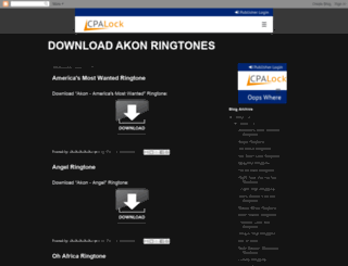 download-akon-ringtones.blogspot.tw screenshot
