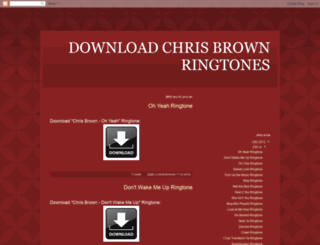 download-chris-brown-ringtones.blogspot.ca screenshot