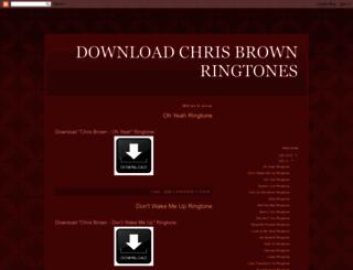 download-chris-brown-ringtones.blogspot.fi screenshot