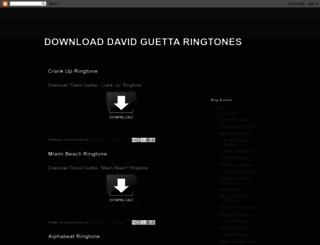 download-david-guetta-ringtones.blogspot.be screenshot