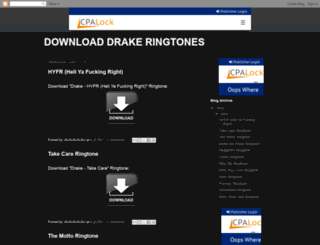 download-drake-ringtones.blogspot.dk screenshot