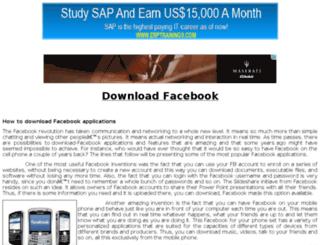 download-facebook.com screenshot