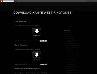 download-kanye-west-ringtones.blogspot.com.es screenshot