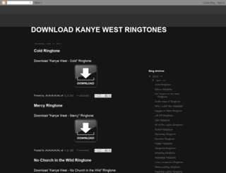 download-kanye-west-ringtones.blogspot.no screenshot