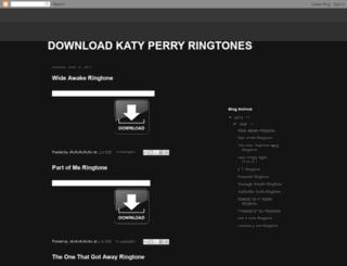 download-katy-perry-ringtones.blogspot.ca screenshot