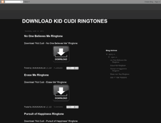 download-kid-cudi-ringtones.blogspot.com screenshot