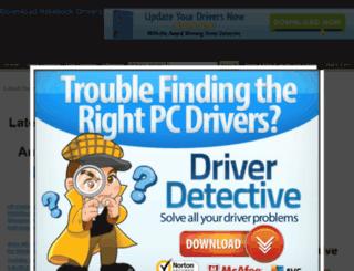 download-laptop-drivers.com screenshot
