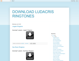 download-ludacris-ringtones.blogspot.ie screenshot