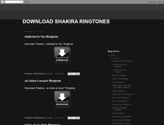 download-shakira-ringtones.blogspot.jp screenshot