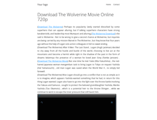 download-the-wolverine-movie.portfolik.com screenshot